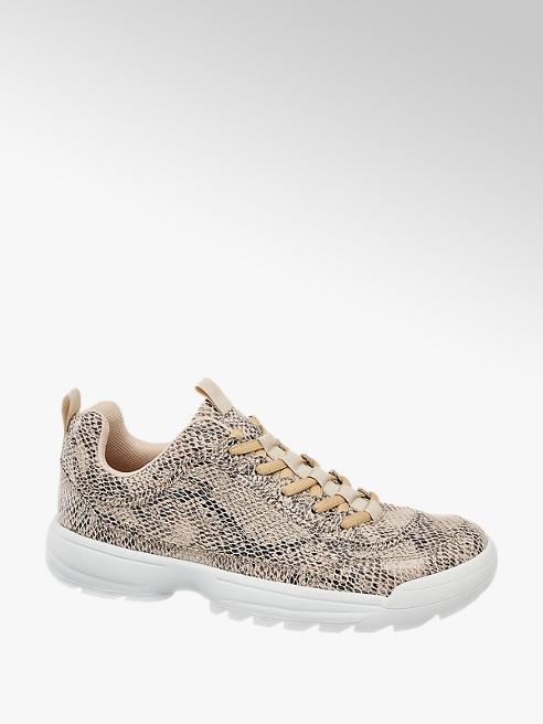 Venice Sneaker Reptil-Look
