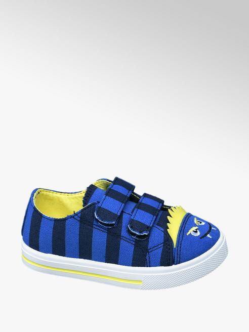 Bobbi-Shoes Sneaker a righe blu e nera