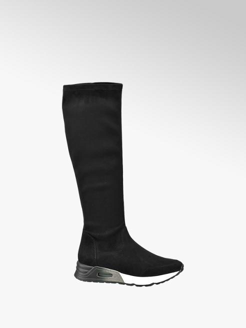 Catwalk Sneaker a stivale nero