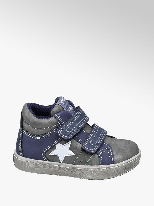 Bobbi-Shoes Sneaker alta con doppia chiusura a velcro