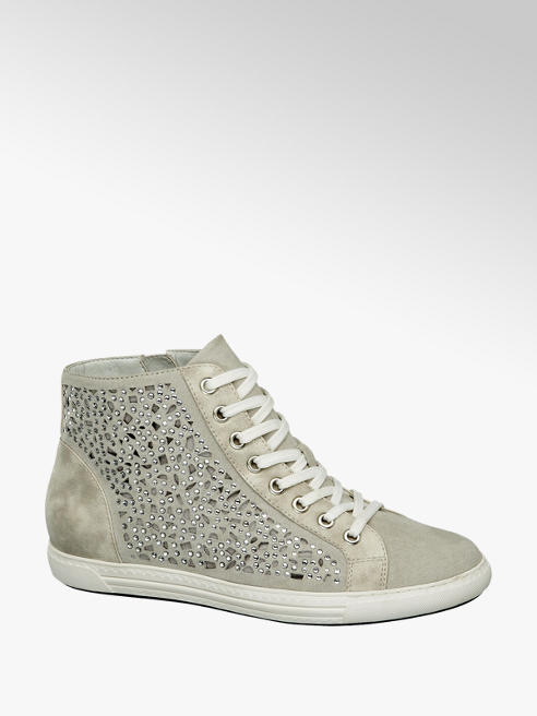 Graceland Sneaker alta con punti luce sulla tomaia