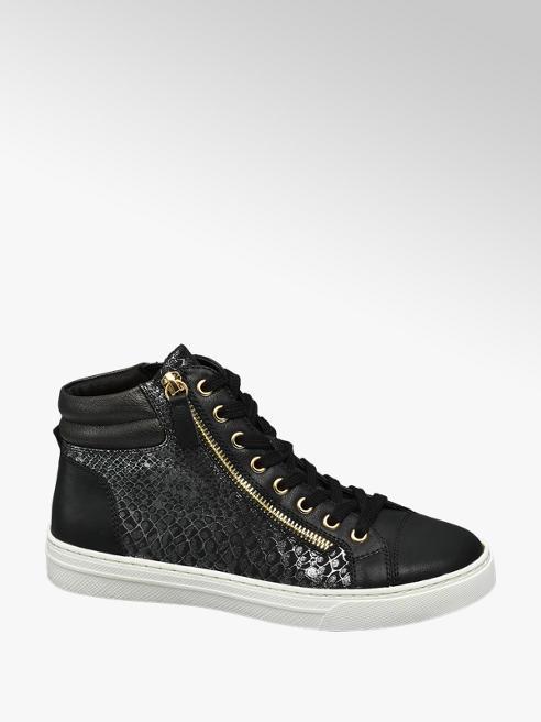 Graceland Sneaker alta nera