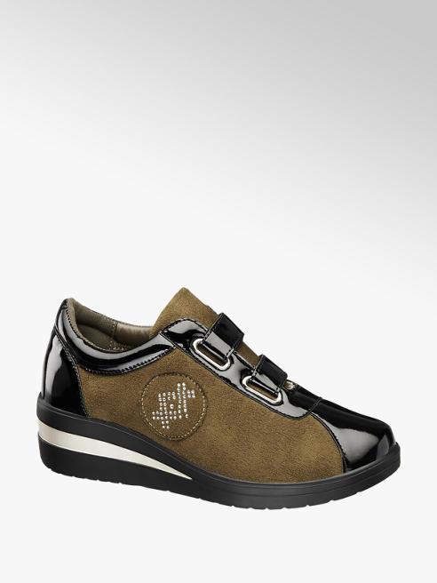 Easy Street Sneaker benessere con chiusura a velcro