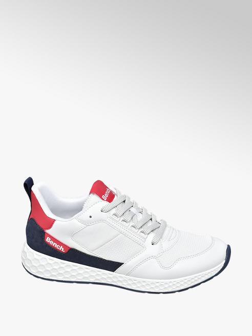 Bench Sneaker bianca bimateriale