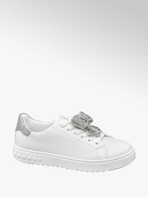 Graceland Sneaker bianca con fiocco