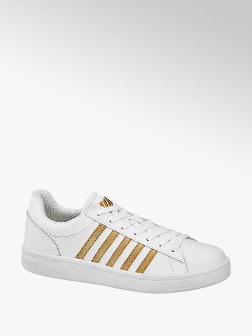 k-swiss Sneaker bianca e oro