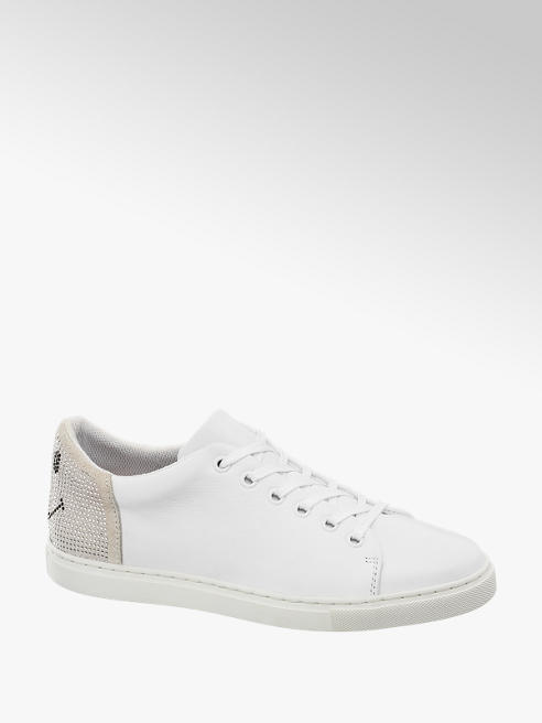 5th Avenue Sneaker bianca in pelle