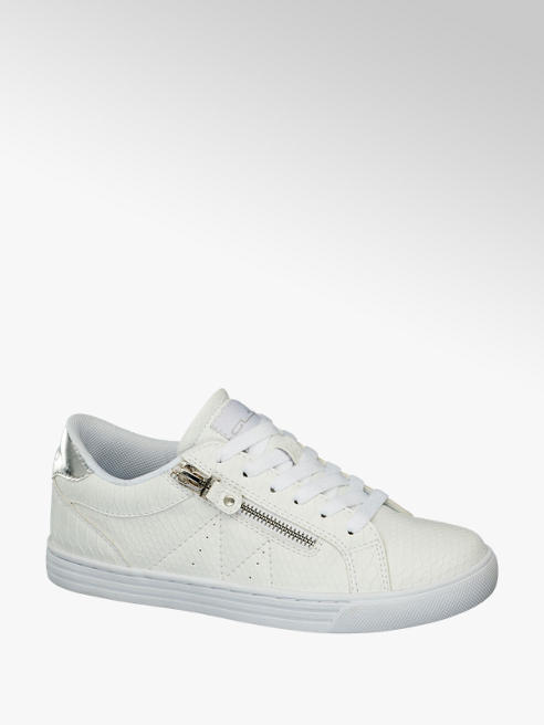 Graceland Sneaker bianca in similpelle