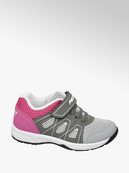 Cupcake Couture Sneaker bimateriale grigia e rosa