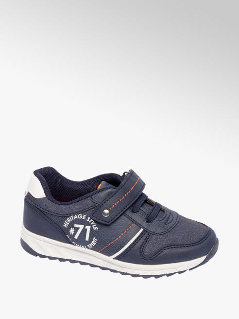 Vty Sneaker blu in similpelle