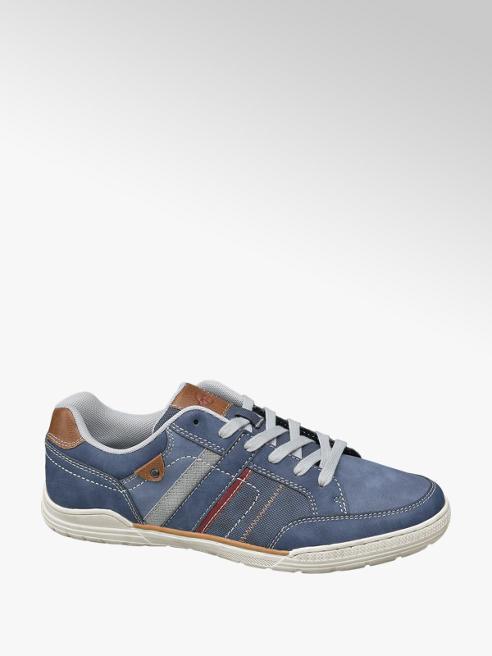 Memphis One Sneaker blu in similpelle