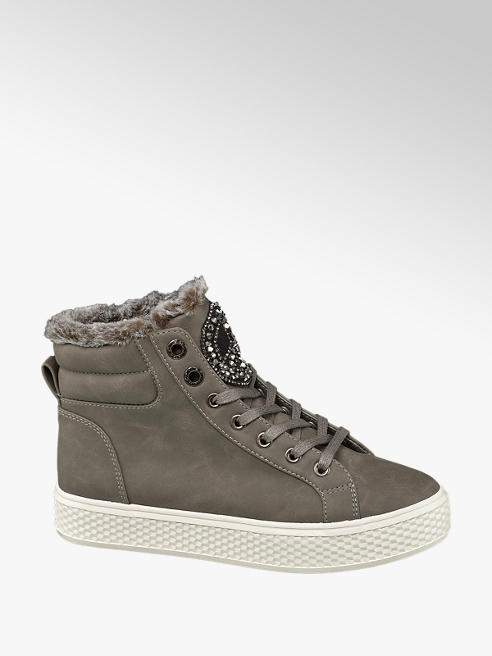 Venice Sneaker de caña alta