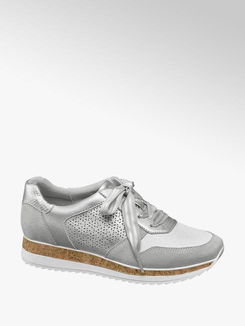 Graceland Sneaker grigia argentata