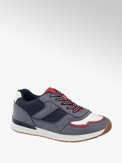 Vty Sneaker grigia in similpelle