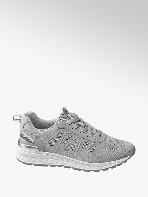 Graceland Sneaker grigia in tessuto