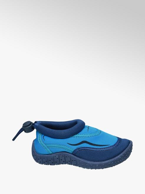 Blue Fin Scarpetta da mare blu e azzurra