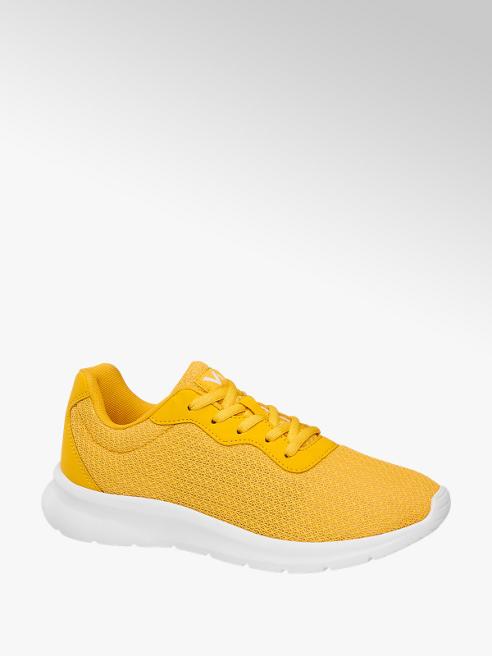 Vty Sneaker in mesh gialla