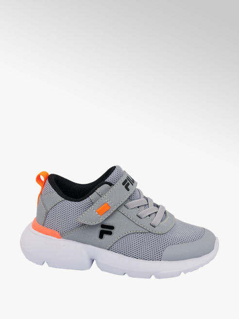Fila Sneaker in mesh grigia