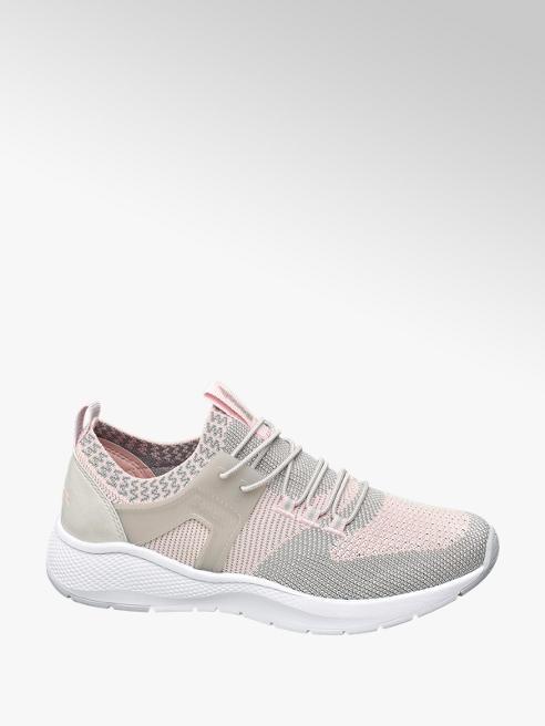 Bench Sneaker in mesh rosa