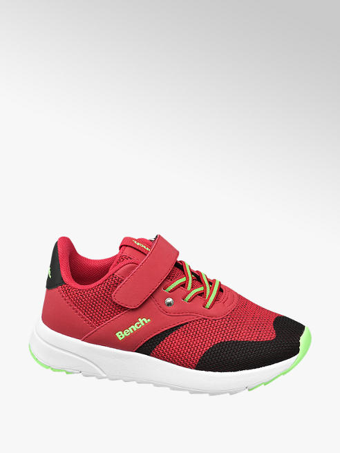Bench Sneaker in mesh rosso