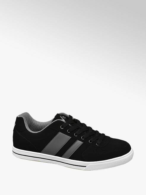 Vty Sneaker in microfibra nera