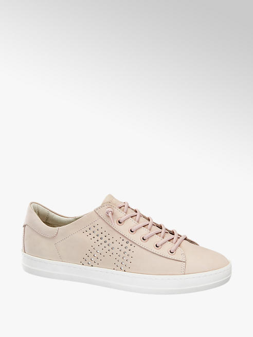 5th Avenue Sneaker in pelle rosa