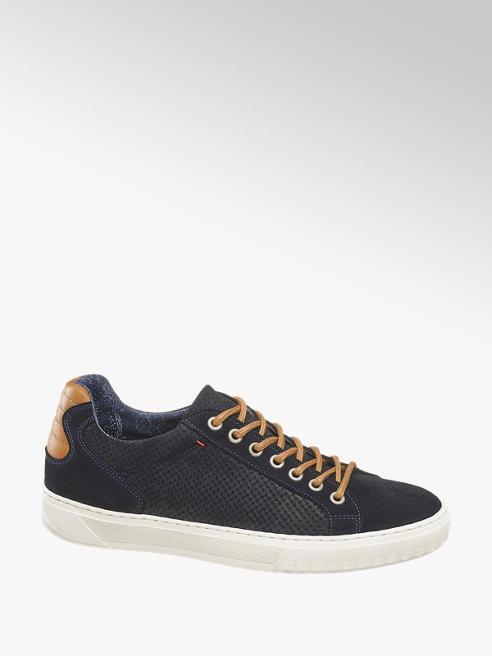 AM SHOE Sneaker in pelle scamosciata blu