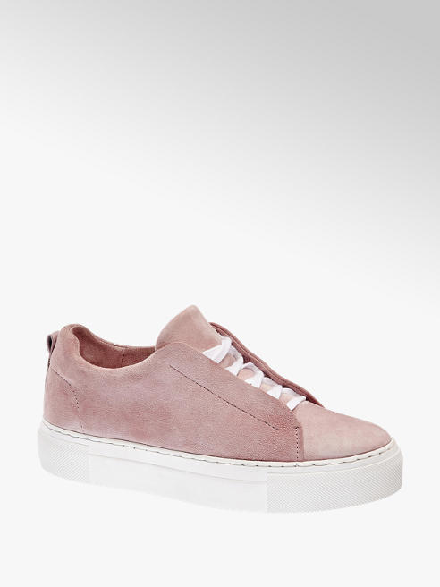 5th Avenue Sneaker in pelle scamosciata rosa