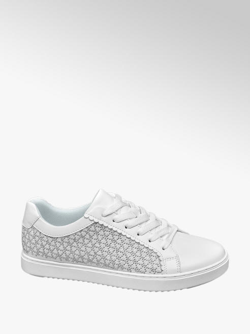 Graceland Sneaker in similpelle bianca