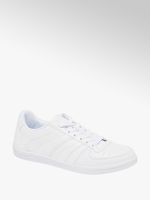 Vty Sneaker in similpelle bianca