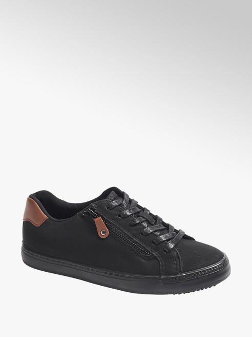 Graceland Sneaker in similpelle nera
