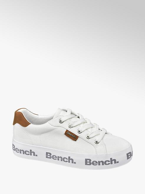 Bench Sneaker in tessuto bianco