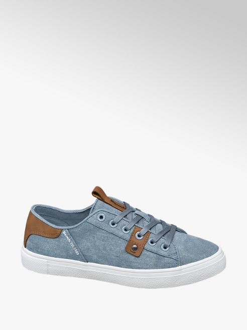 Bench Sneaker in tessuto blu jeans