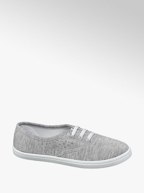 Vty Sneaker in tessuto grigia