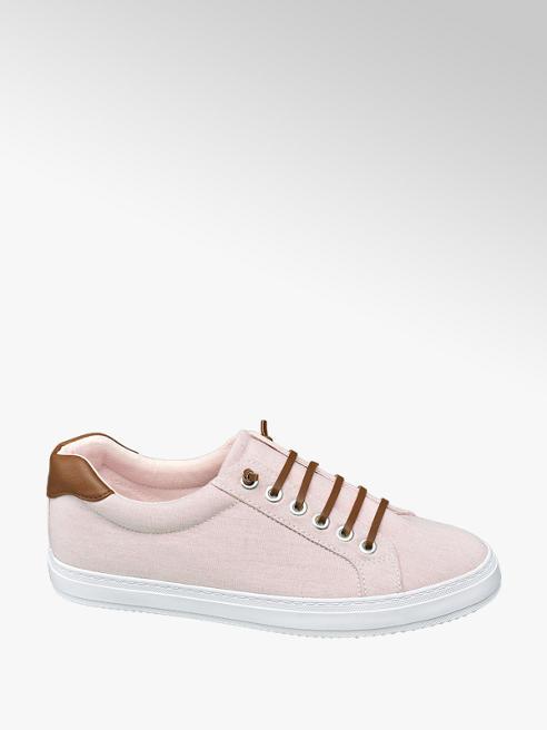 Graceland Sneaker in tessuto rosa