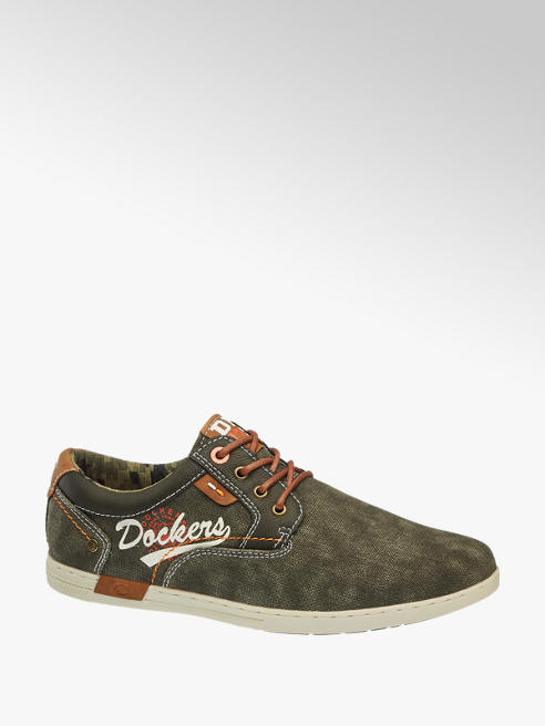 Dockers Sneaker in tessuto verde militare