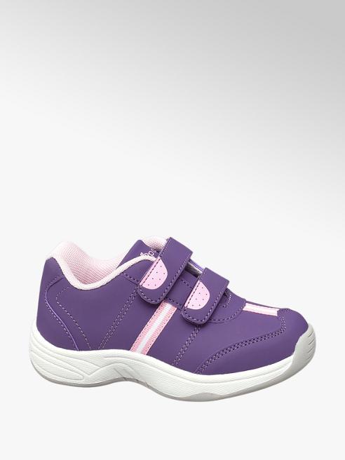 Cupcake Couture Sneaker lilla con doppio velcro