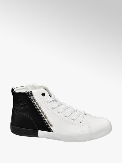 Memphis One Sneaker mid cut bianco e nero