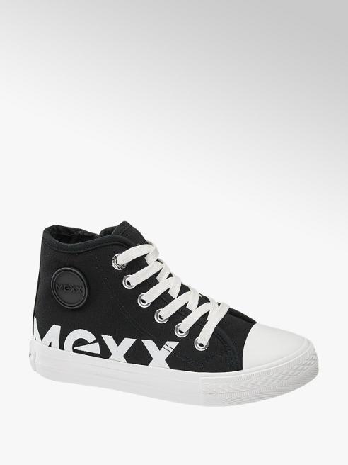 MEXX Sneaker mid cut in tessuto nero