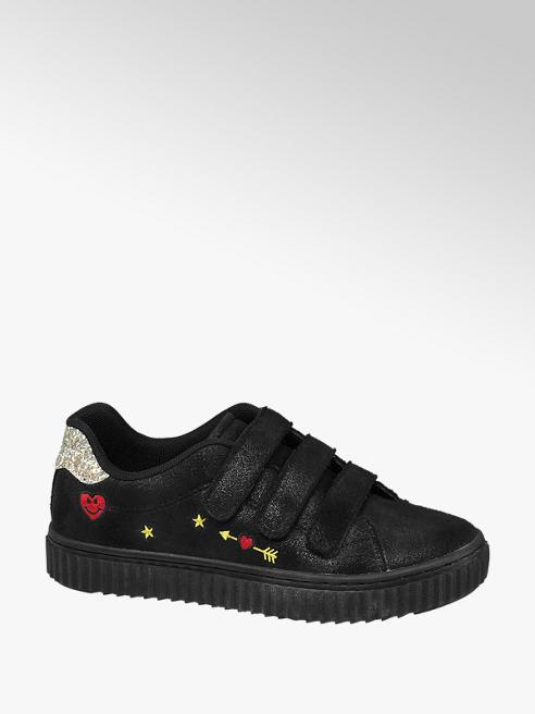 Venice Sneaker nera con decorazioni