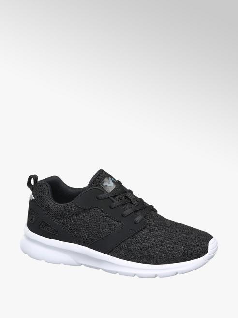 Vty Sneaker nera con suola in gomma leggera