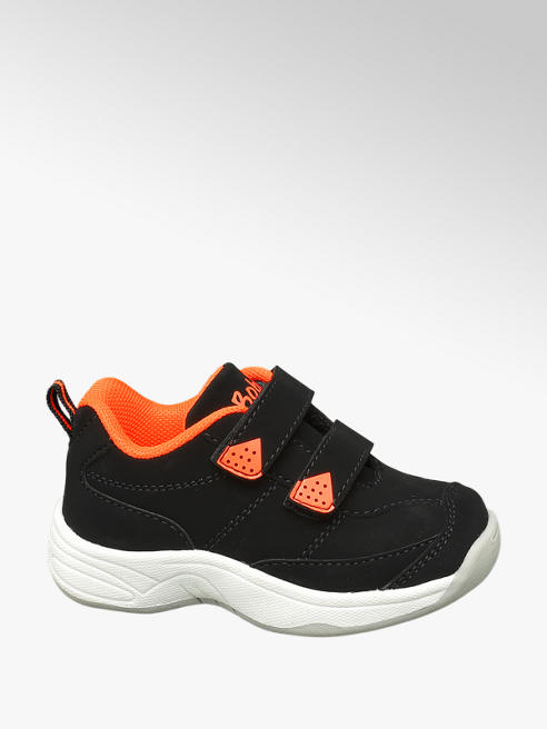Bobbi-Shoes Sneaker nera con velcro