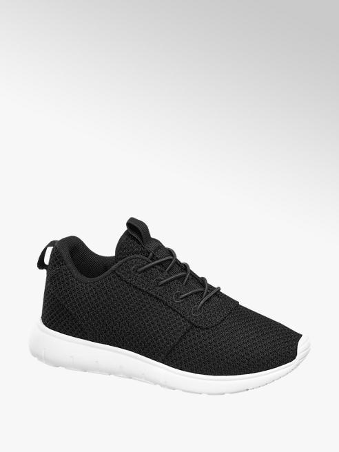 Vty Sneaker nera in mesh