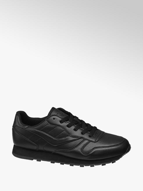 Vty Sneaker nera in similpelle