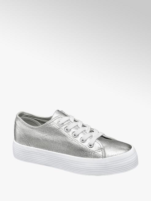 Vty Sneaker platform argento
