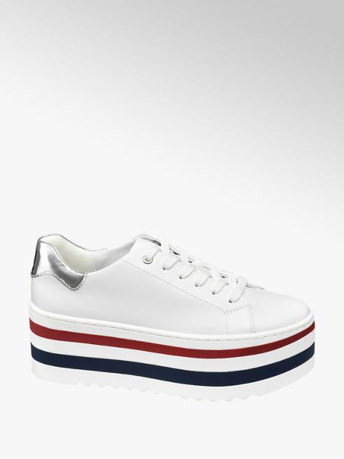 Catwalk Sneaker platform bianca