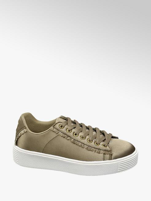 Graceland Sneaker platform in satin