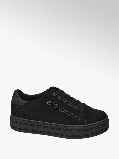 Graceland Sneaker platform nera