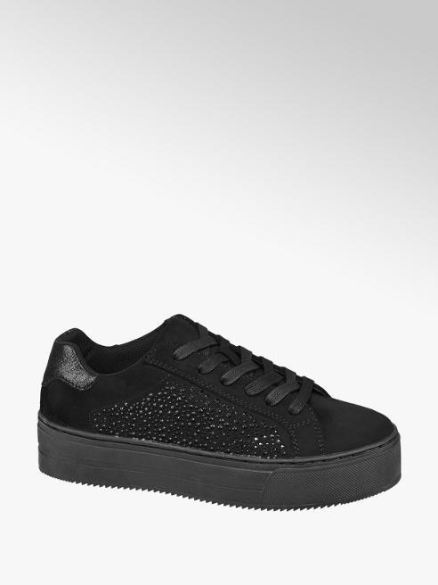 Catwalk Sneaker platform nera
