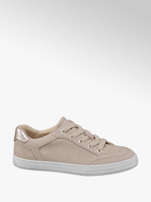 Graceland Sneaker rosa effetto pitonato